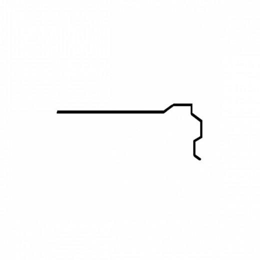 Планка ПТ-2 сіра
