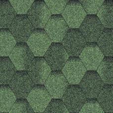 Битумная черепица «Мозаїка» «Зелена еко»