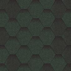 Битумная черепица «Мозаїка» «Зелена мікс»