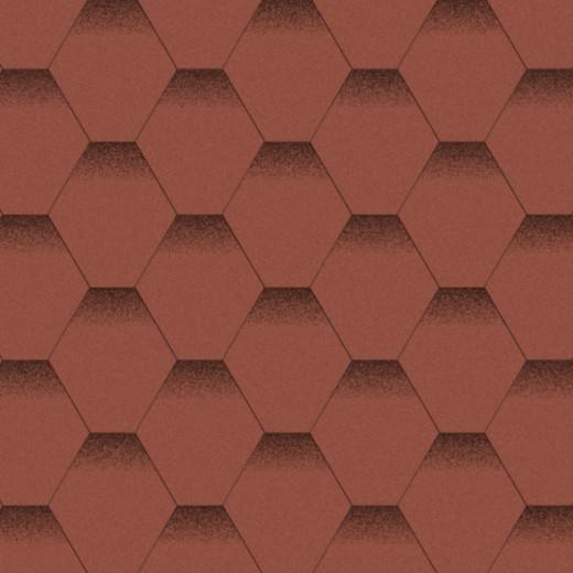 Бітумна черепиця «Мозаїка» «Червоний мак»